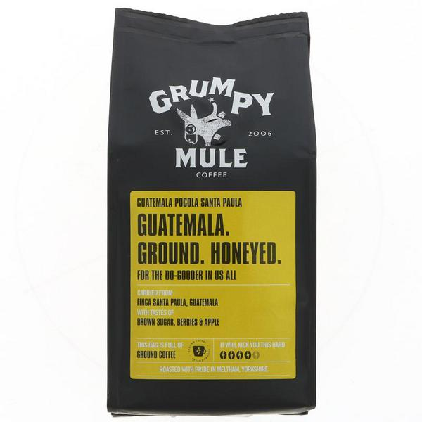 Guatemala Pocola Ground Coffee FairTrade, ORGANIC