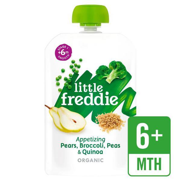 Appetizing Pears,Broccoli,Peas & Apple Baby Food ORGANIC