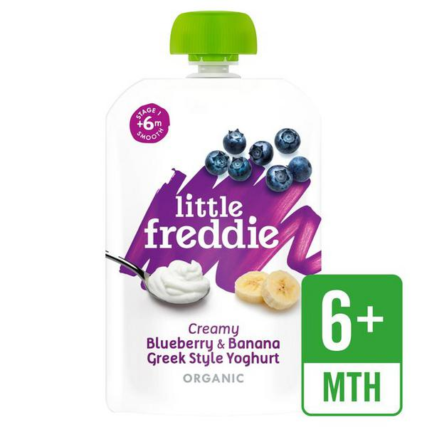 Creamy Blueberry,Banana & Greek Style Yoghurt Baby Food ORGANIC