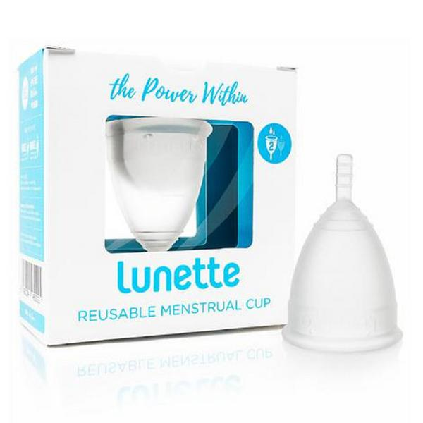 Menstrual Cup Clear 2