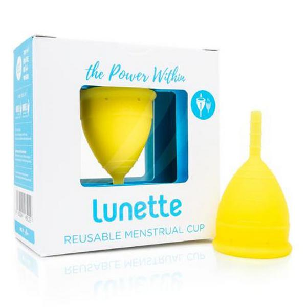 Menstrual Cup Yellow 1