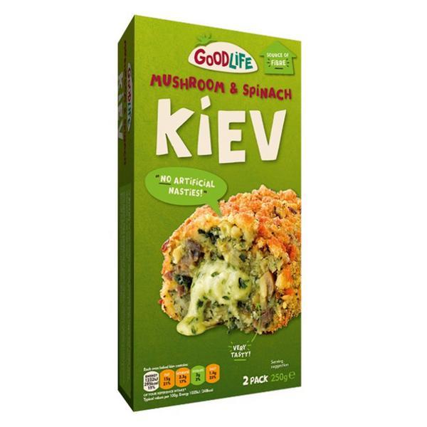 Mushroom & Spinach Kievs