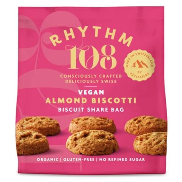 Almond Biscuits Sharing Bag Vegan, ORGANIC