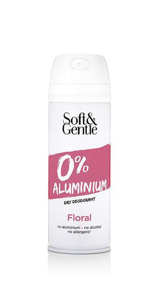 Dry Deodorant Floral Aluminium Free