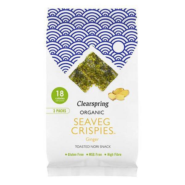 Ginger Seaveg Crispies Multipack ORGANIC