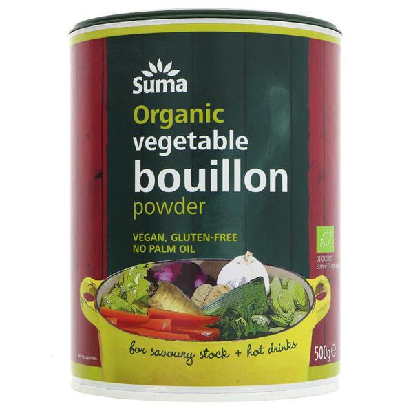 Vegetable Powder Bouillon Vegan, ORGANIC