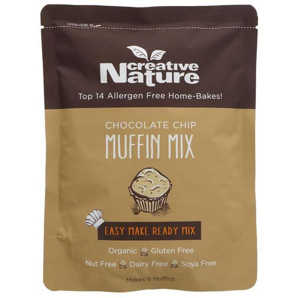 Chocolate Chip Muffin Mix Vegan, ORGANIC