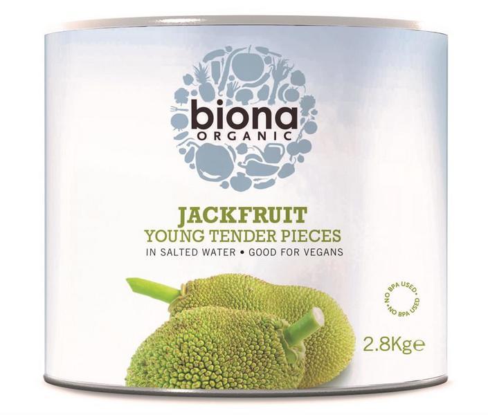 Young & Tender Jackfruit in Salted Water Vegan, ORGANIC
