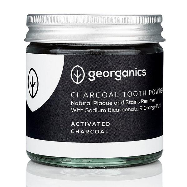 Activated Charocal Tooth Powder Whitening & Stain Remover Gluten Free, Vegan, ORGANIC