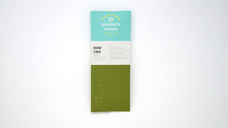 CBD Raw Chocolate Vegan, ORGANIC