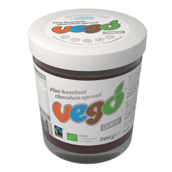 Fine Hazelnut Chocolate Spread Crunchy Vegan, ORGANIC