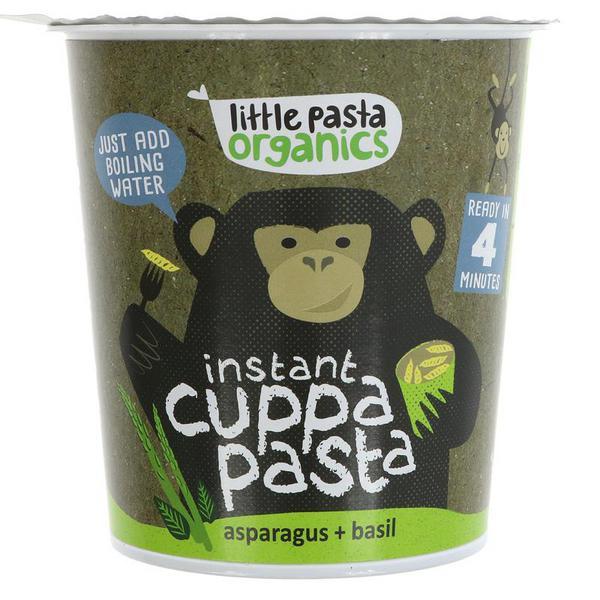 Asparagus & Basil Instant Pasta Pot ORGANIC