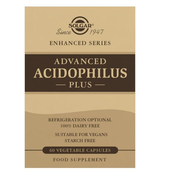Advanced Acidophilus Probiotic Plus Gluten Free, Vegan
