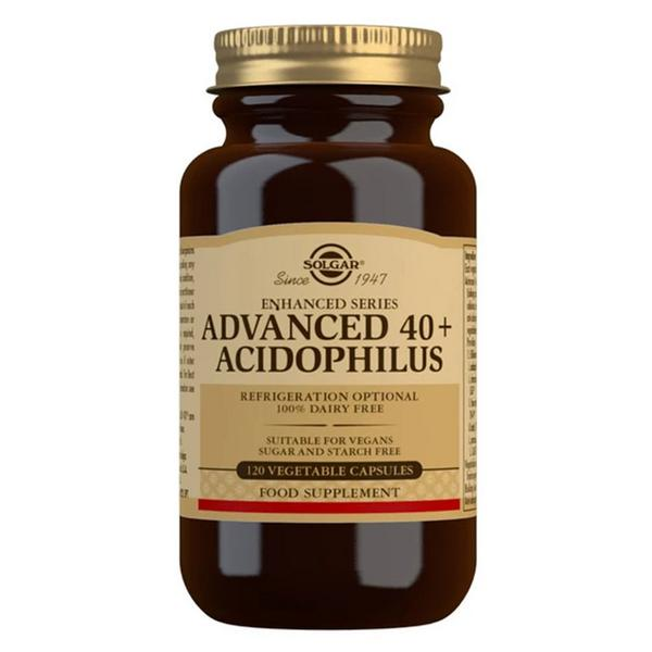 Advanced 40+ Acidophilus Probiotic Gluten Free, Vegan