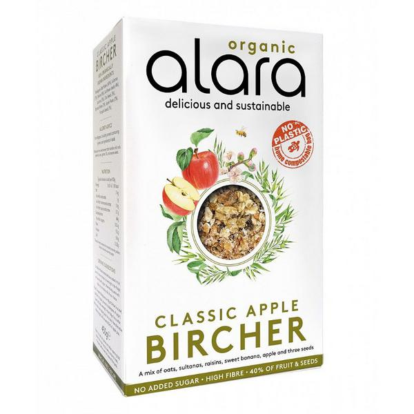 Classic Apple Bircher dairy free, Vegan, ORGANIC
