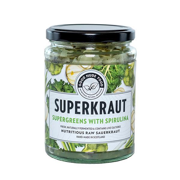 Supergreens With Spirulina Superkraut Vegan