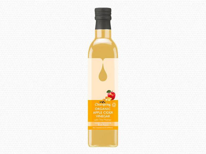 Cider Vinegar Ginger,Turmeric & Black Pepper Apple With Mother ORGANIC
