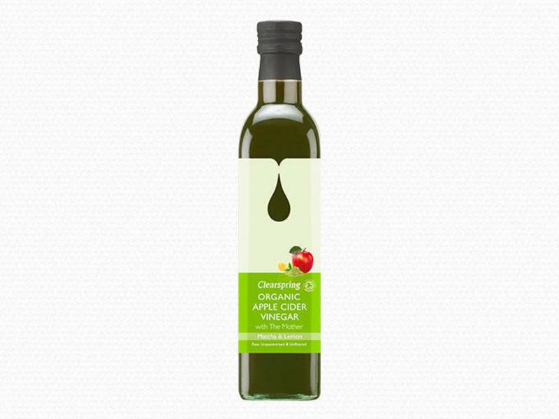 Cider Vinegar Matcha & Lemon Apple with the Mother ORGANIC