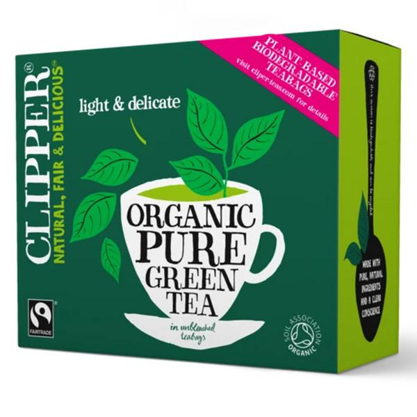 Pure Green Tea FairTrade, ORGANIC