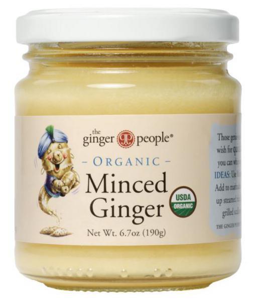 Ginger Minced dairy free, Vegan, ORGANIC