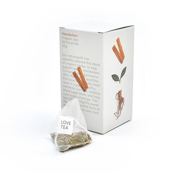 Metabolism Tea Vegan, ORGANIC