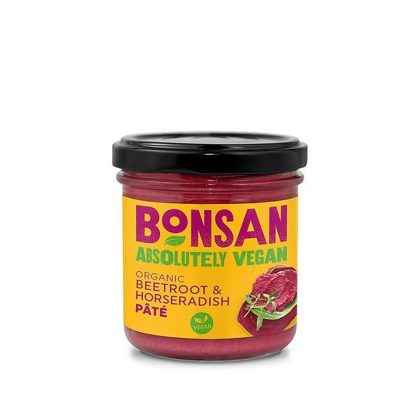 Beetroot & Horseradish Pate Vegan, ORGANIC