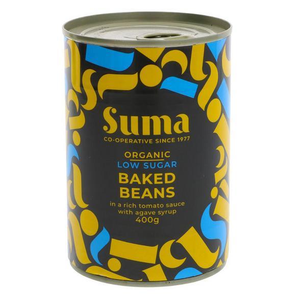 Low Sugar Baked Beans in Tomato Sauce Vegan, ORGANIC