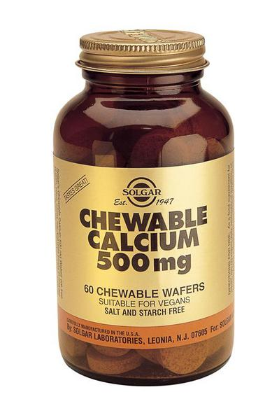 Chewable Calcium Mineral 500mg