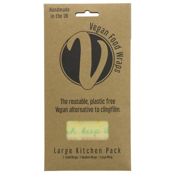 Bran Wax Kitchen Wrap Large Ambient Pack