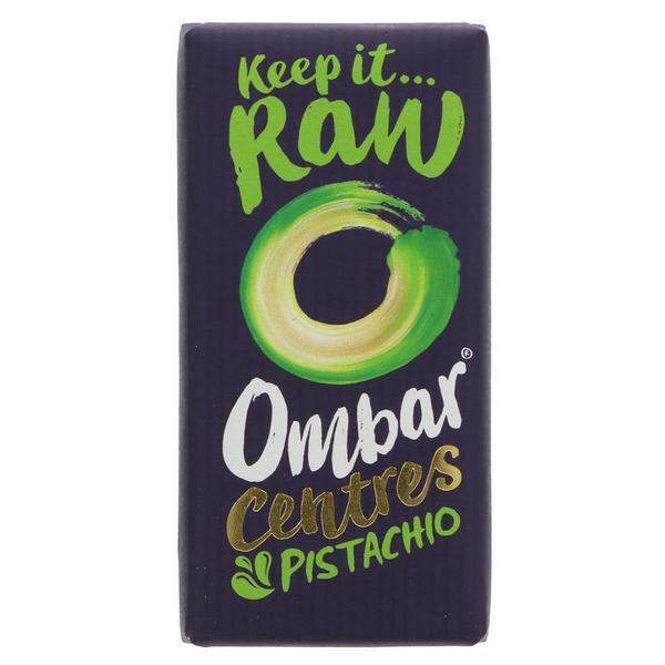 Pistachio & Coconut Centre Raw Chocolate Vegan, FairTrade, ORGANIC