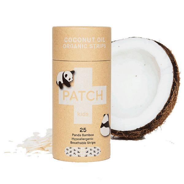 Coconut Bamboo Kids Plasters Vegan, ORGANIC