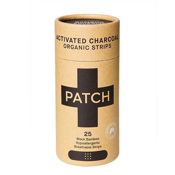 Charcoal Bamboo Plasters Vegan, ORGANIC