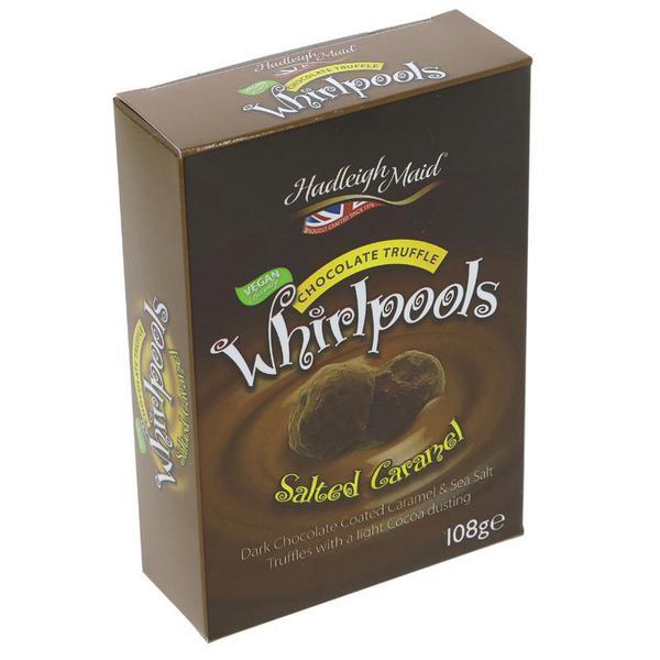 Salted Caramel Truffles Whirpools Vegan