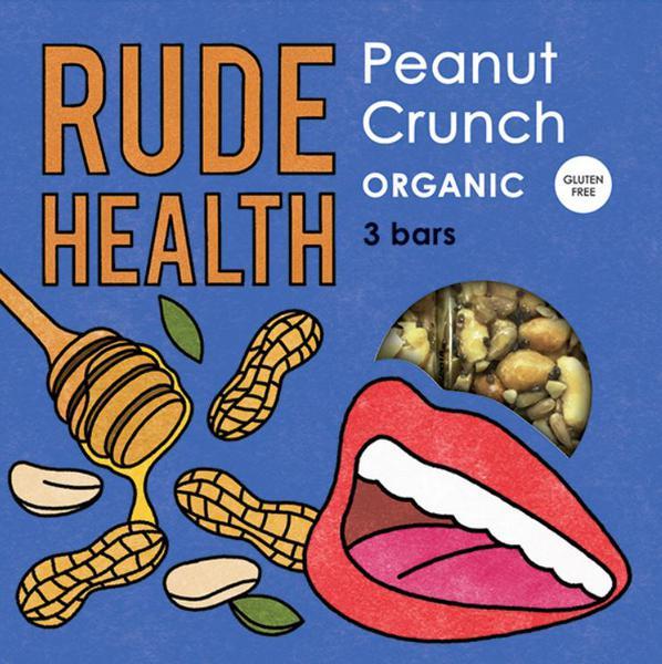 Peanut Crunch Snackbar ORGANIC