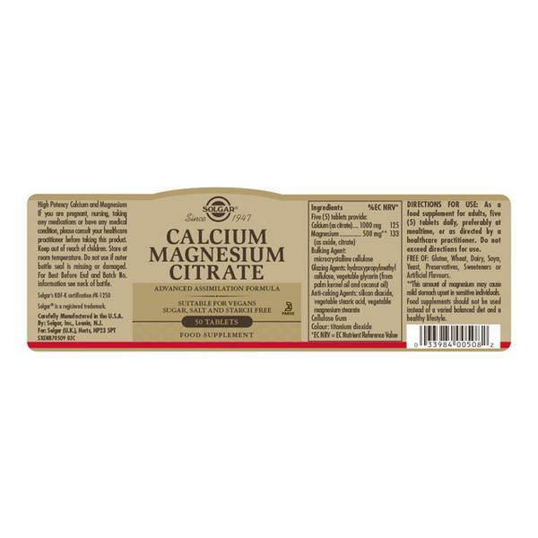 Mineral Calcium & Magnesium Citrate  image 2