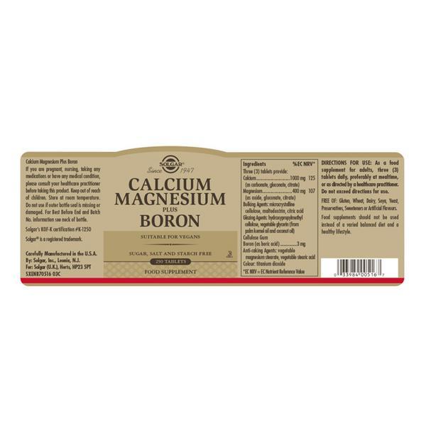 Mineral Calcium,Magnesium & Boron  image 2