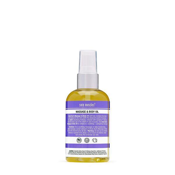 Coconut & Hemp Massage Oil  image 2