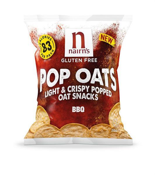 Light & Crispy BBQ Popped Oats Gluten Free, Vegan