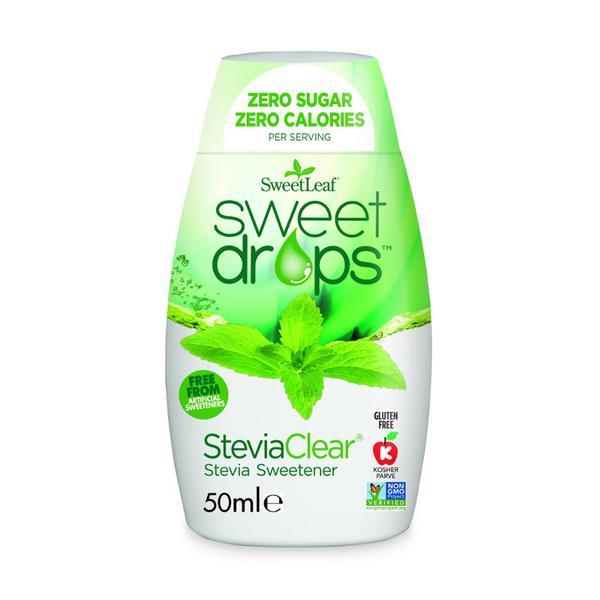 Stevia Clear Sweet Drops dairy free, Gluten Free