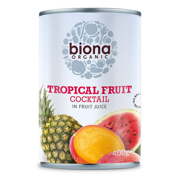 Tropical Fruit in Fruit Juice Vegan, ORGANIC