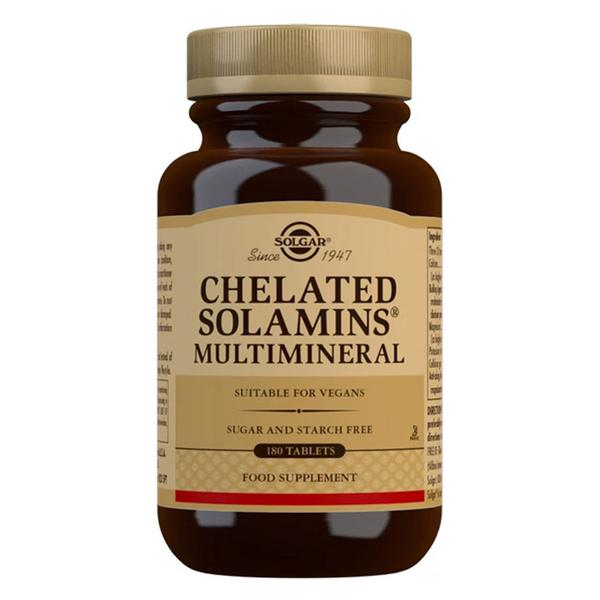 Chelated Solamins Multi Minerals Supplement Vegan