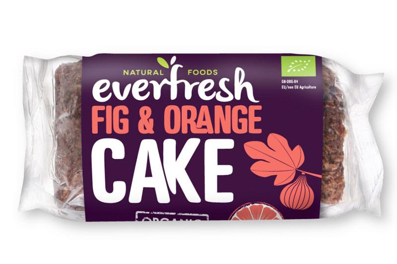 Cake Fig & Orange Vegan, ORGANIC
