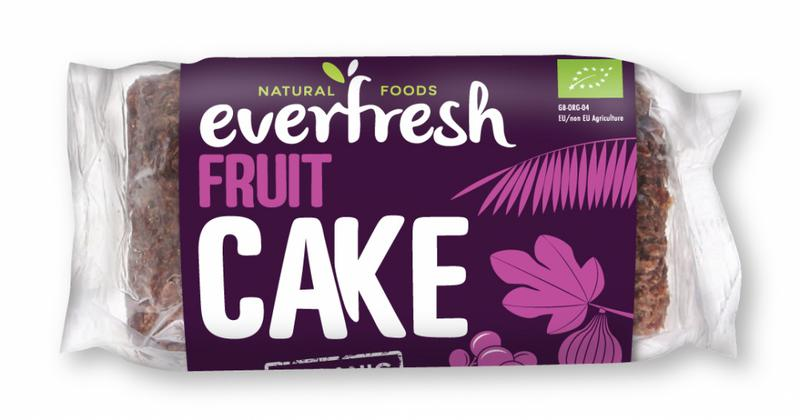 Sprouted Fruit Cake Vegan, ORGANIC