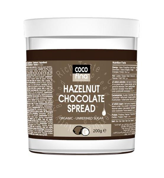Hazelnut Chocolate Spread Vegan, ORGANIC