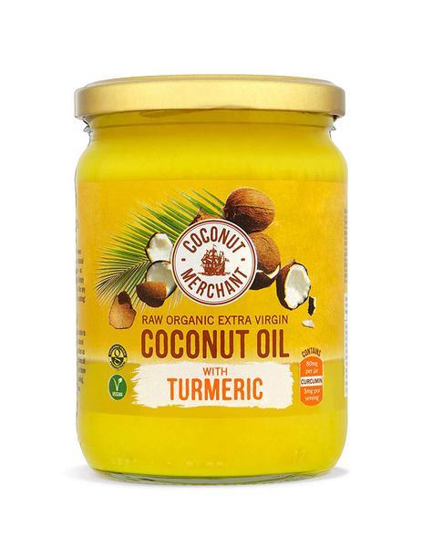 Coconut Oil Turmeric Extra Virgin Gluten Free, Vegan, ORGANIC