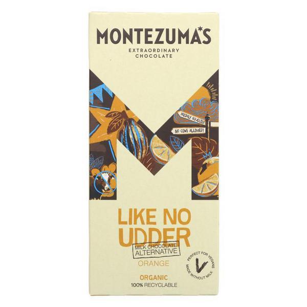 Like No Udder Orange Alternative to Milk Chocolate Vegan, ORGANIC