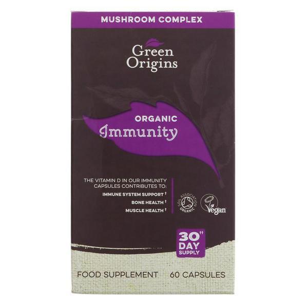 Immunity Support Supplement Vegan, ORGANIC