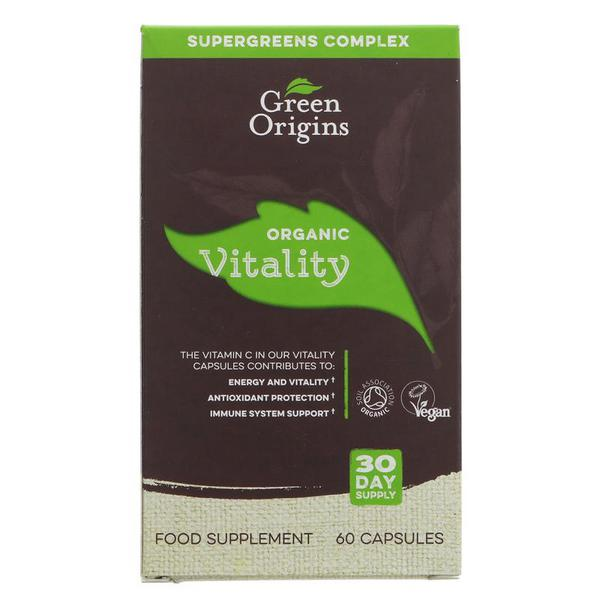 Vitality Supplement Vegan, ORGANIC