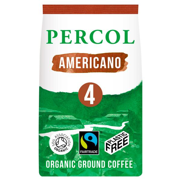 Americano Coffee Ground Vegan, ORGANIC