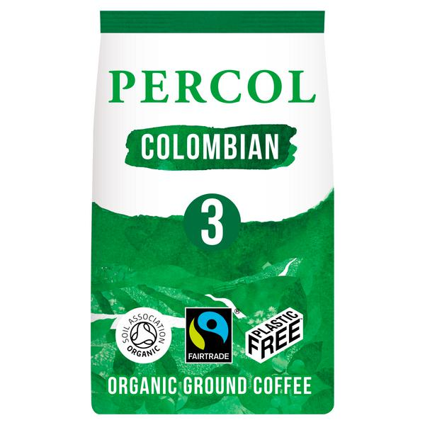 Ground Coffee Colombian Vegan, FairTrade, ORGANIC